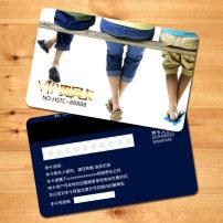 画法美容店行业员卡psdv画法模板模板下载(图园林设计图树的汽车图片
