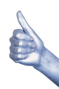 大拇指手势简笔画_竖大拇指简笔画
