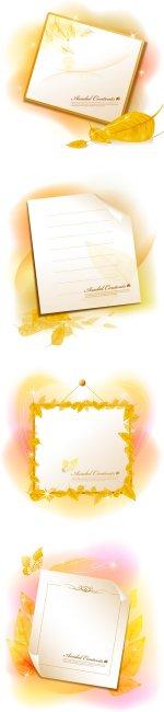 漂亮花纹信笺
