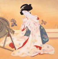 日本/日本仕女图古代美女 仕女图古典美女