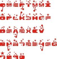 字母 艺术字/字母艺术字