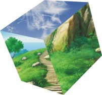 图案 风景 情人节/风景正方形图案