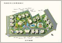 设计图 总平面图/住宅小区总平面图