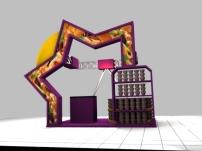 创意 堆头/创意堆头3d模型