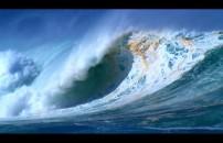 气势磅礴的海浪