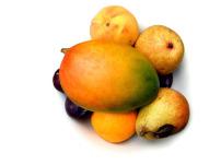 水果桃子 桃子简笔画