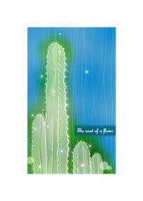 背景/矢量简约绿色植物素材背景