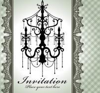 设计 邀请/矢量设计/邀请卡矢量图