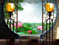 古代窗花图片素材 古代窗花图片素材免费下载
