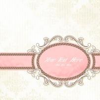 背景 素材 花纹/矢量欧式粉红背景花纹素材