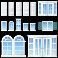 玻璃/矢量窗户玻璃图片素材