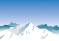 素材 美丽/矢量素材卡通山脉图片背景