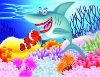 素材 海底/矢量卡通海底生物素材