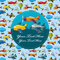 卡通 资源/卡通飞机标签
