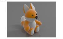 卡通 帆船酒店/卡通狐狸3D模型