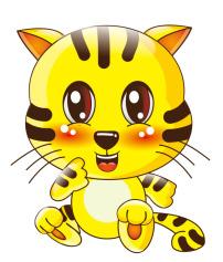 生肖老虎 动物 可爱卡通 吉祥物 虎