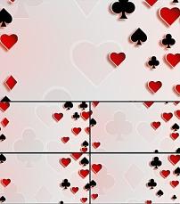 扑克牌 方片 红桃_纹身图案