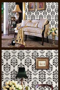 贝蝶欧式花纹电视沙发客厅瓷砖背景墙彩雕