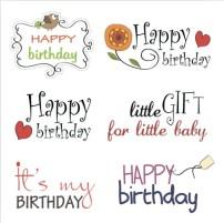 生日快乐艺术字体设计模板下载(图片编号:449