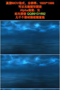 背景 魔幻/蓝色天空大海梦境魔幻视频素材vj背景