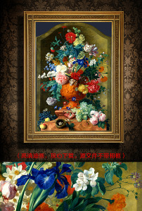 欧式花卉油画高清图片下载(图片编号13394792)风景