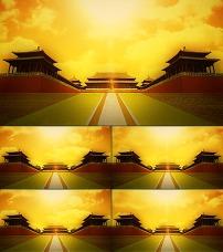大气宫殿皇宫背景素材图片