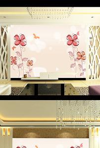 欧式古典花纹复古沙发背景墙客厅背景墙