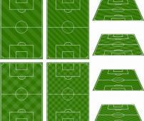 足球场平面图模板下载(图片编号:10620769)__