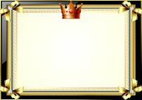皇冠奖状证书纹图片
