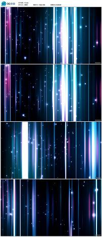 动感线条led视频素材
