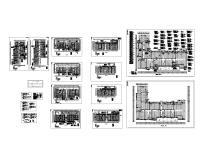 消防CAD平面图图片素材_消防CAD平面图图片盘式制动器cad下载图图片