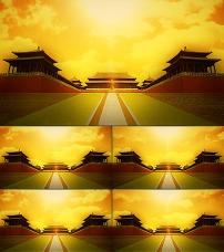 大气宫殿皇宫军队背景素材图片