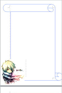 可爱卡通猪信纸word模板下载(图片编号:12291153)___.图片
