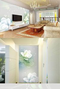 背景墙 电视 模板/现代简约大型墙纸壁画电视背景墙