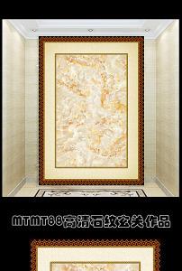 欧式油画背景墙玄关模板下载(图片编号:12367404)