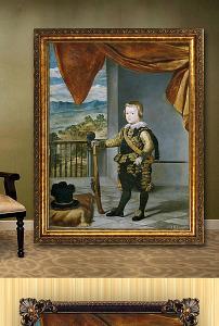 高清手绘欧式古典写实风格儿童玩耍油画