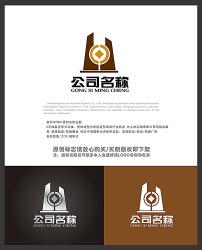 国外金融行业logo_金色时尚立体金融行业logo设计