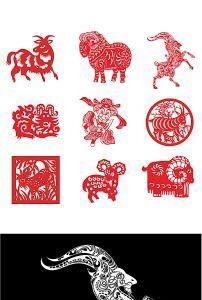 古典中式中国风扇面水墨山水画玄关