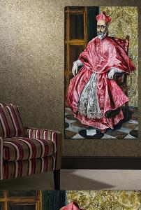 文艺复兴罗马教皇手绘图片