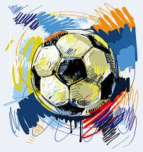 足球赛海报背景图片素材_足球赛海报背景图片