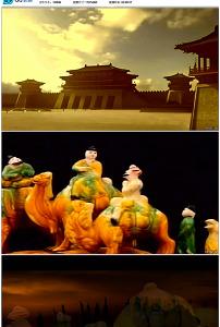 中国古代唐朝宫殿建筑丝绸之路图片