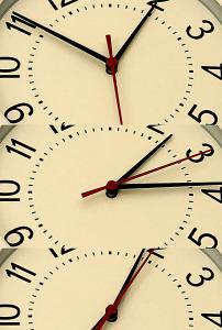 时间流逝时钟指针转动超高清视频背景素材图片