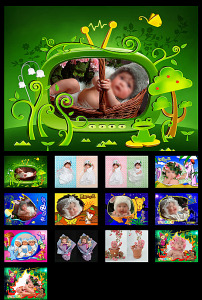 儿童成长ppt相册 模板迪士尼 宝宝