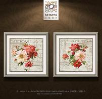 玫瑰花 花卉/欧式复古花纹花卉牡丹花玫瑰花油画... 已下载0 次