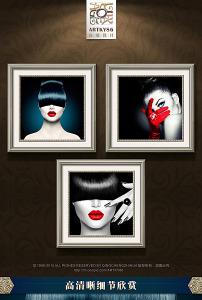 性感美女 诱惑 黑白/唯美时尚黑白性感美女红唇蓝眼诱惑... 已下载0 次