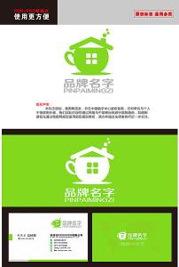 标志 餐饮/茶艺餐饮茶店茶屋奶茶店LOGO标志 已下载0 次
