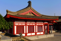 法门寺唐朝宫殿图片