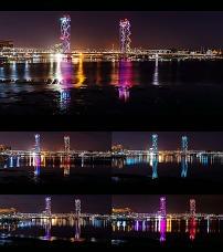 唯美 夜景/城市建筑大桥唯美夜景高清视频素材已下载0 次