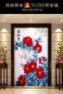 古典竹子水墨中国风玄关高清图片下载(图片编号)中式图片