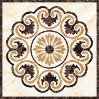 正方形水刀瓷砖拼图大理石拼花